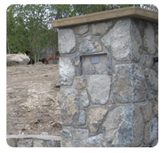 ROCK AND STONEWORK